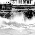 Turning Basin by Gary Jobe in BW